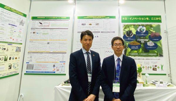 東京ビッグサイトの農業フェア・ブースで、アトリエ 辻 東京の製品を提供