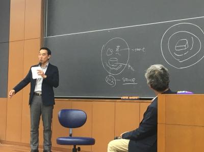 立教大学の辻調寄付講座にエコール 辻 東京の秋元真一郎先生がゲスト講師として登壇