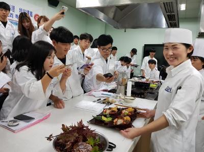 韓国・ヘジョン大学校で日本料理特別講習会実施