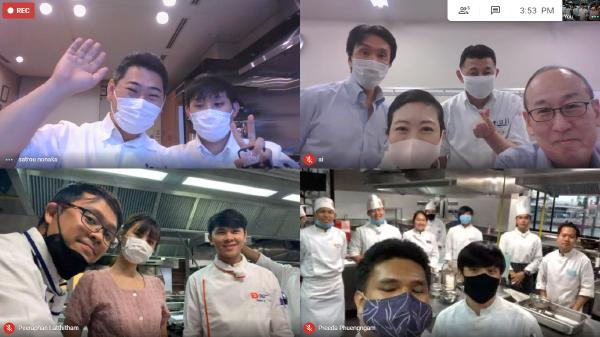 タイ・デュシタニカレッジに「オンライン授業」を実施