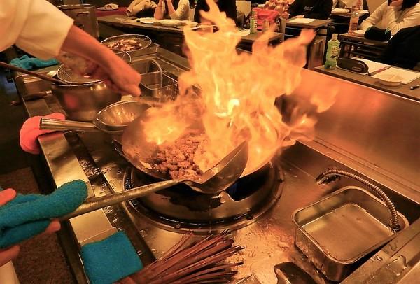 中国料理 外来授業