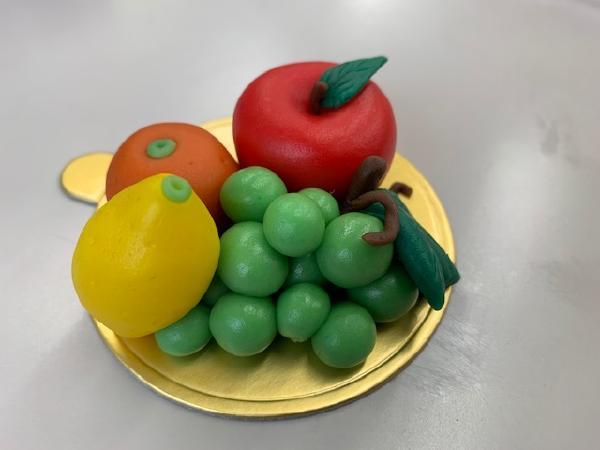 マジパンでフルーツを作ろう(*^_^*)