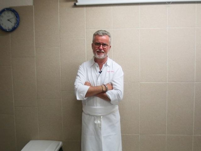 調理外来講習 M.Jacques BERTRANDT(ジャック・ベルトラン)氏/Restaurant Les Cèdres(レストラン・レ・セードル)