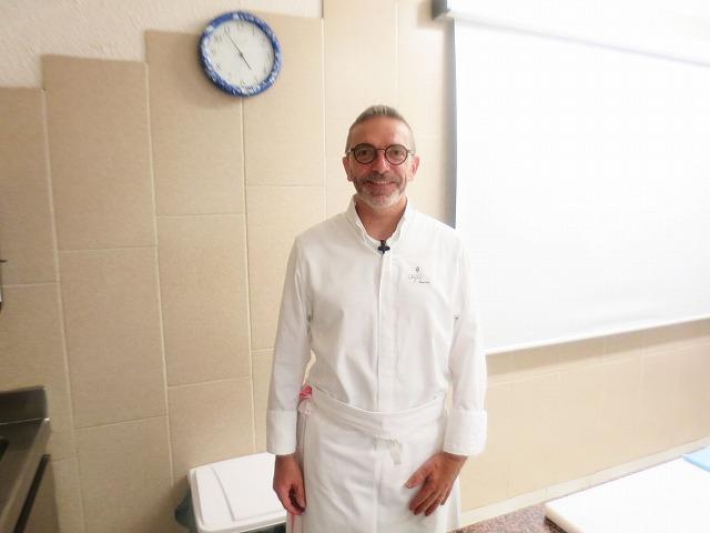 調理外来講習 M.Sébastien BRAS(セバスチャン・ブラス)氏/Maison Bras - LE SUQUET(メゾン・ブラス‐ル・シュケ)